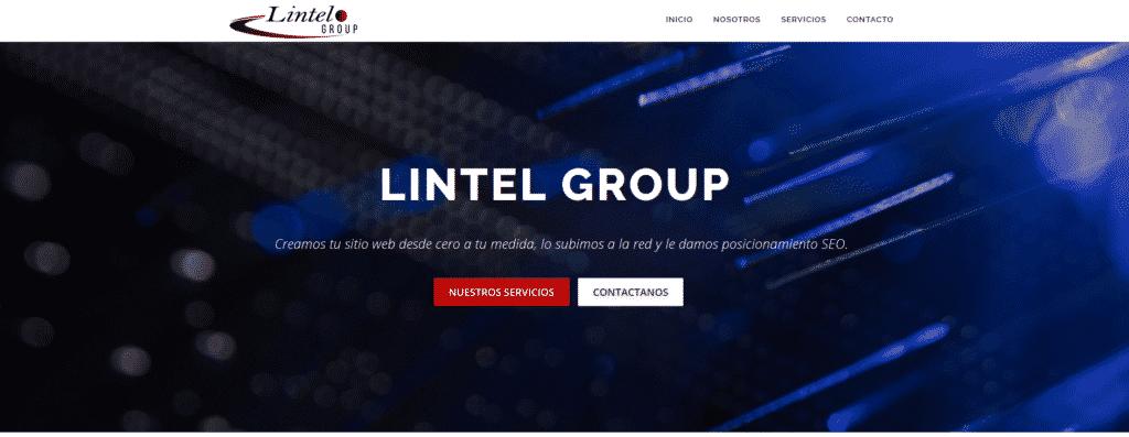 Lintel Group Web